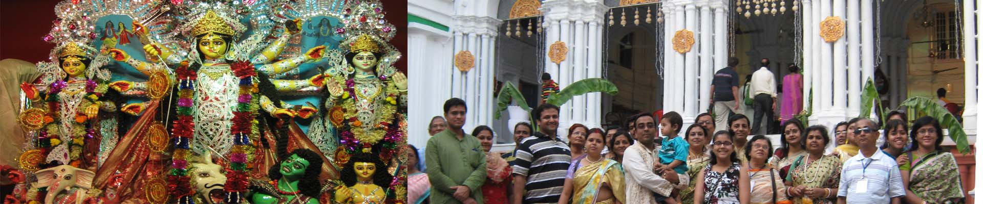 Durga Puja Parikrama,Gram Banglar Durga Puja-Mercury Tour